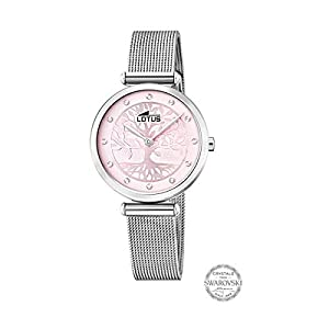 Lotus Reloj Analógico para Mujer de Cuarzo con Correa en Acero Inoxidable 18708/2