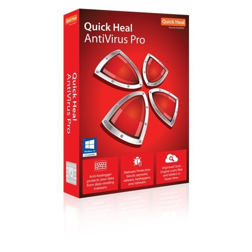Quick Heal Antivirus - 1 PC, 3 Years (CD)