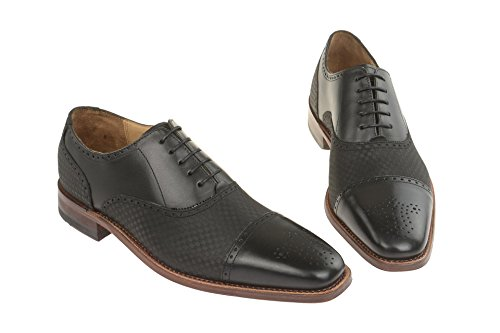 Gordon & Bros - Sandali con Zeppa uomo Black/Checked Black