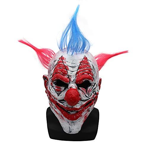 e Latex Requisiten Scary Masquerade Männer Und Frauen Headwear ()