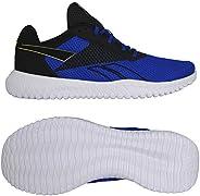 Reebok Men's Flexagon Energy Tr 2.0 Track Shoes, Black/Humble Blue/Hero Ye