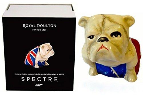 Bulldog 007 SPECTRE Royal Doulton Jack [2015] Spectre Limited Edition British flag (Union Jack) by Royal Doulton -