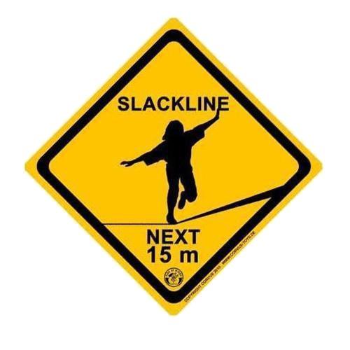 CORVUS a750315Siguiente para Practicar Slackline 15m Signboard