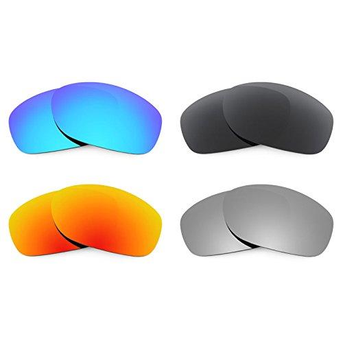 Preisvergleich Produktbild Revant Ersatzlinsen für Oakley Pit Bull Polarisiert 4 Paar Kombipack K018
