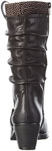 Noir Bottes Y8080 Schwarz Grau Rieker Classiques 01 Femme Schwarz dvIfxwZqn