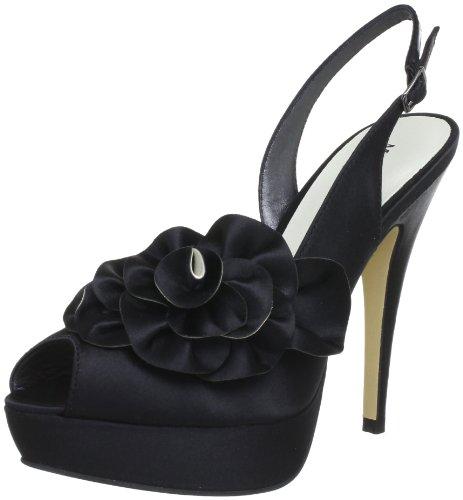 Menbur 5171, Sandales femme Noir (Schwarz 01)