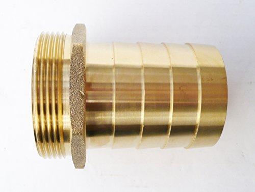 En laiton massif pour tuyau queue connecteur barbelé à filetage mâle BSP. étang/piscine/adaptateurs Tuyau d'arrosage 50 mm à 2 50 mm x 2\