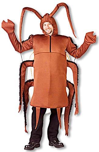 Kakerlake Für Erwachsenen Kostüm - Horror-Shop Kakerlaken Kostüm für Erwachsene