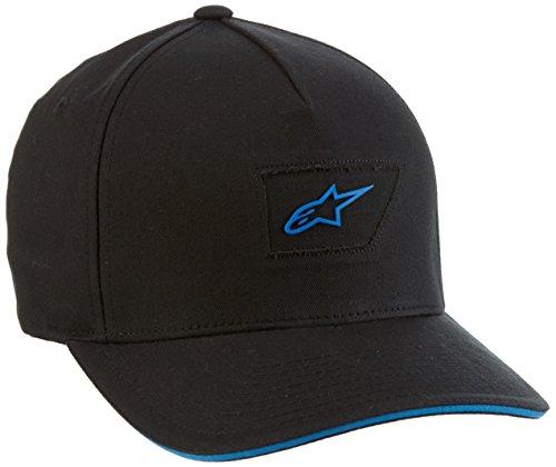 Alpinestars Herren Hat freedom LXIII, schwarz, S/M, 1016-81014 (Hat Gummi Alpinestars)