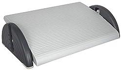 Wedo 2751037 Fußstütze (Relax Plus verstellbar) lichtgrau