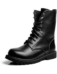 fama mondiale numerosi in varietà prestazioni superiori Amazon.it: stivali alti uomo - Militare / Scarpe da lavoro ...