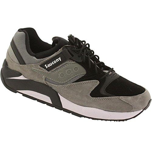 Saucony Originals Herren Grid 9000 Premium Sneaker Grau/Schwarz