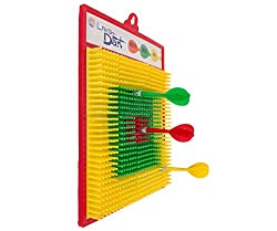 Aaryan Enterprise Completely Safe Plastic Dart Game for Kids with Four non pointed Darts.