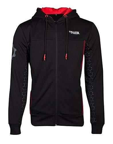 Gears of War - Tech Logo - Zipper | Offizielles Merchandise, Größe:S