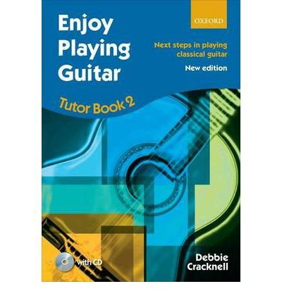 Enjoy Playing Guitar, Tutor Book 2 + CD: Next Steps in Playing Classical Guitar (Enjoy Playing Guitar) (Sheet music) - Common