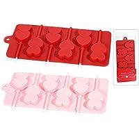 Ideapiu 4 – Molde Silicona para 6//Polos Corazón ...