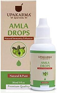 UPAKARMA Ayurveda Amla Drops an Ayurvedic Herb Drops to Boost Immunity and Strength- 30ml