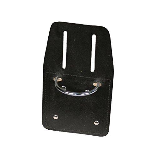 Porta-martillo cuero brida metálica cinturón