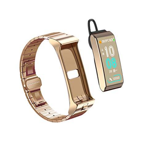 BZLine Mode Bluetooth Smartwatch | Intelligente Armbanduhr Fitness Tracker Sport Uhr mit Herzfrequenz Schrittzähler Blutdruckuhr für Android und IOS | Kinder Damen Herren