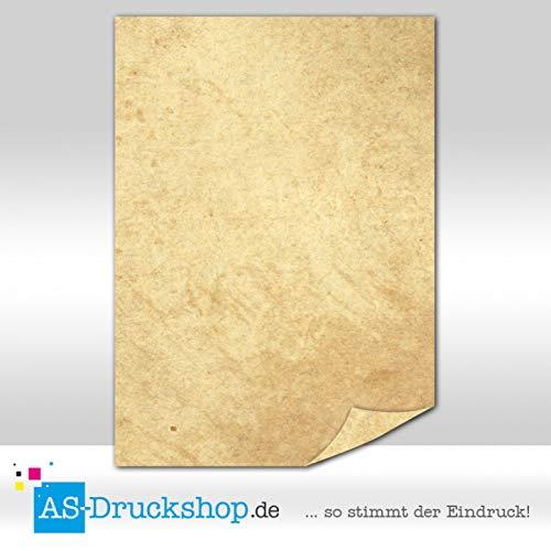 Papiro/pergamena-struttura liscia/100fogli di carta/din a5/90g di offset
