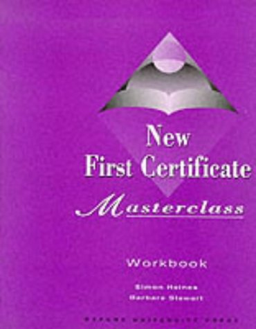 New first certificate masterclass (workbook): Workbook (Without Answers)