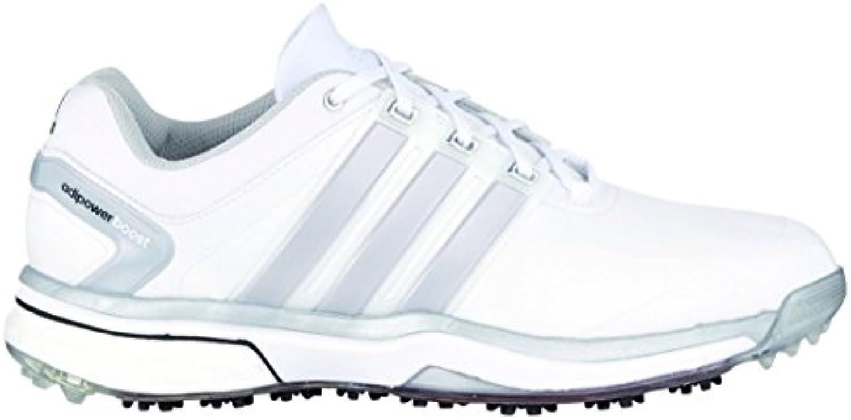 adidas   adipower stimuler des chaussures de golf  2015   Blanc  golf / Argent  régulièreHommes t digne   Blanc  / Argent  7,5 7,5 régulièreHommes t digne d79221
