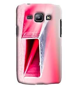 Blue Throat Rectangular Pipe Printed Designer Back Cover/Case For Samsung Galaxy J1