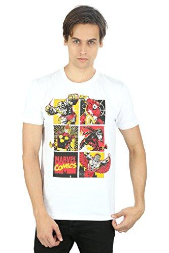 World Of Marvel White T-Shirt