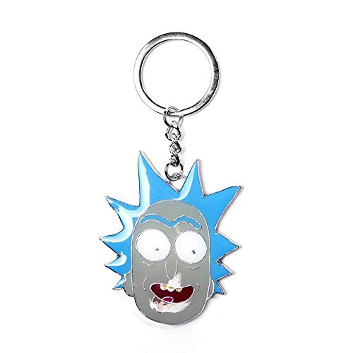 Llavero de Metal Rick and Morty - Rick