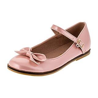 d1c4ac3b8f8a7d Festliche Kinder Mädchen Ballerinas Schuhe für Partys und Freizeit in  vielen Farben M297rs Rosa Gr.