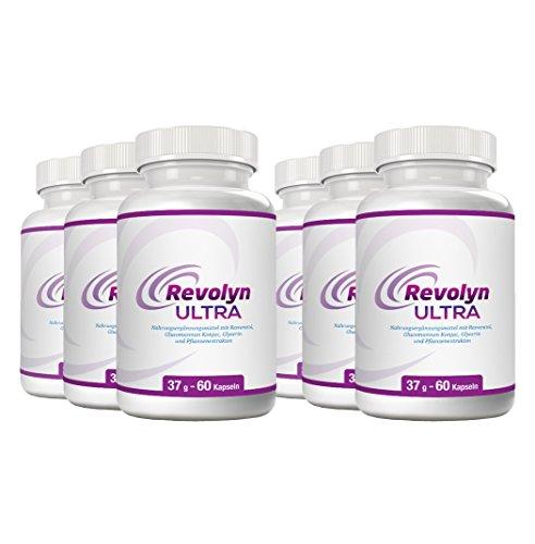 Revolyn Ultra - Diätpille für effektiven Gewichtsverlust | Jetzt das 6-Flaschen-Paket mit Rabatt kaufen | (6 Flaschen)