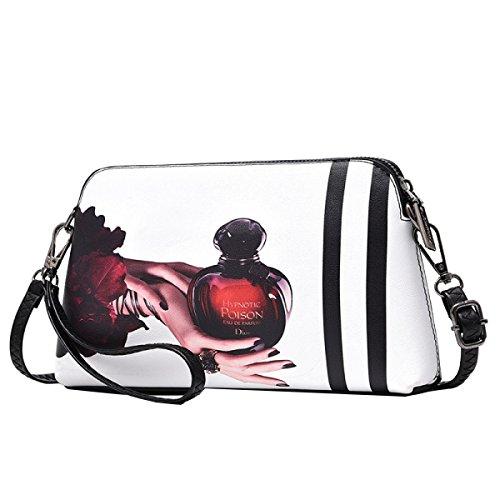 Yy.f Neue Handtaschen Modern Minimalistisch Schulter Diagonal Handtasche Wild Drucktasche Bunte Taschen E