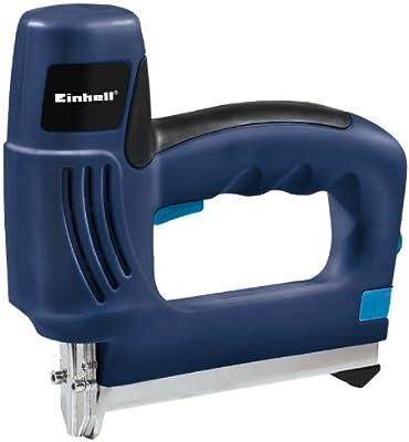 Einhell BT-EN 30 E - Grapadora eléctrica, 30 disparos por minuto, color azul