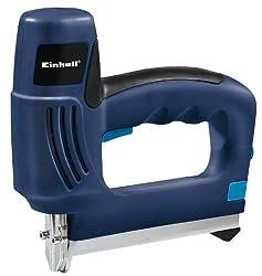 Einhell Elektrotacker BT-EN 30 E (30 Schüsse/Min, Hinterladesystem, Magazinfüllstands-Anzeige, inkl. Klammern und Nägel)