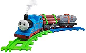 SUPER TOY Train Toys for Kids with Track (Batter Operated)
