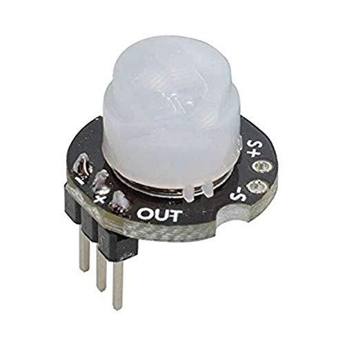 Nrpfell Mini Sr602 Capteur De Mouvement Module Détecteur Infrarouge Pyroélectrique Commutateur Sensoriel avec Haute Sensibilité