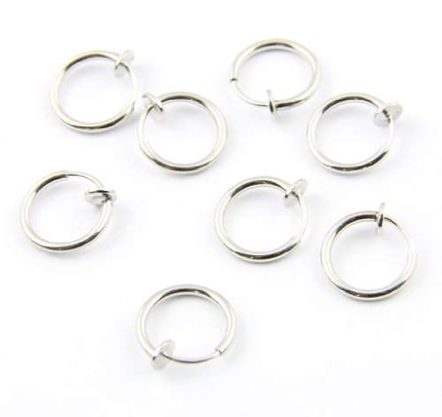 316l-surgical-stainless-steel-8-clip-on-fake-piercings-rings-ear-nose-lip-earrings-body-jewelry