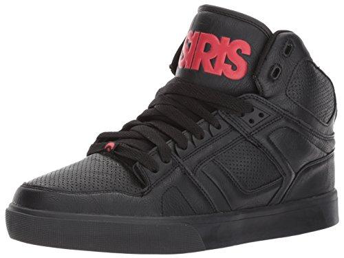 Osiris Nyc83 Vulc Black/Red/Red Nero