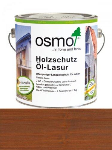Preisvergleich Produktbild OSMO Holzschutz Öl-Lasur 2,5 Liter Teak 708