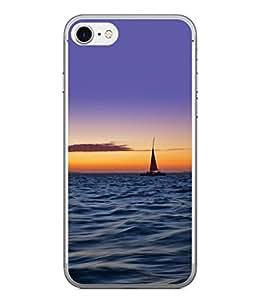 PrintVisa Designer Back Case Cover for Apple iPhone 6 (Ship Sailing Scenic Design)