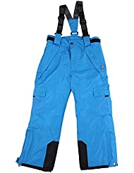 Pantalones de esquí, snowboard Pantalones Joven Chica, talla 128, 134140146152158, color azul, tamaño 134