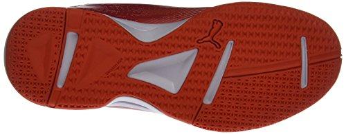 Puma Evoimpact 5.3, Chaussures de Fitness Homme Blanc (White-black-cherry Tomato)