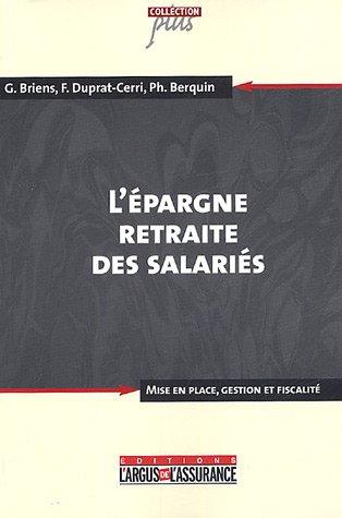 L'épargne salariale par Gilles Briens