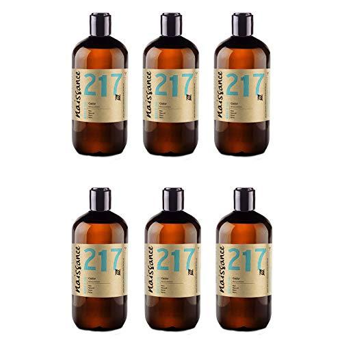 Naissance Huile de Ricin (n° 217) Pressée à froid - 3 Litres (6 x 500ml) – 100% pure, végan, sans hexane, sans OGM