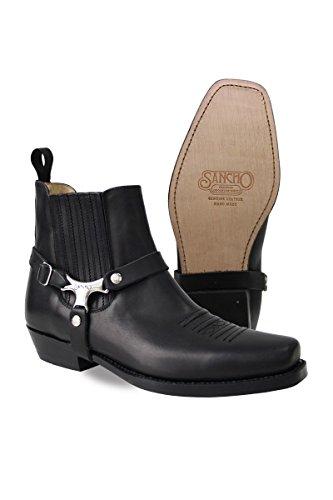 Sancho Boots, Stivali donna Nero nero 36