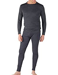 Socks Uwear Classic Mens Thermal Underwear Set Long Sleeve Top & Long John
