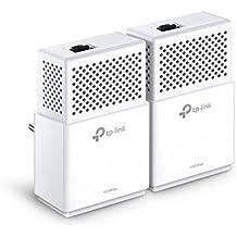 TP-Link AV1000 TL-PA7010 KIT - Extensor de red por línea (Gigabit, 1000 Mbps Powerlines, HomePlug, Plug and Play, ahorro de energía)
