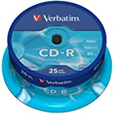 Verbatim (43432) : CD-R 52x 25-pack :  Optical Media