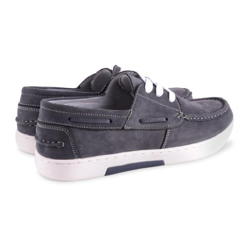 Footwear Sensation , Herren Sneaker Navy Boat Shoes