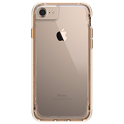 custodia iphone 7 plus nero oro
